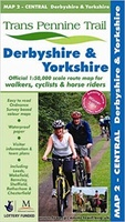 Trans Pennine Trail Map 2 Central Derbyshire & Yorkshire