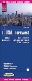 Wegenkaart - landkaart 01 USA Noord-West: Washington & Oregon | Reise Know-How Verlag