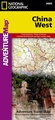 Wegenkaart - landkaart 3009 Adventure Map China West | National Geographic