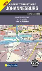 Stadsplattegrond - landkaart Johannesburg Zuid Afrika - eaZiplan   MapStudio