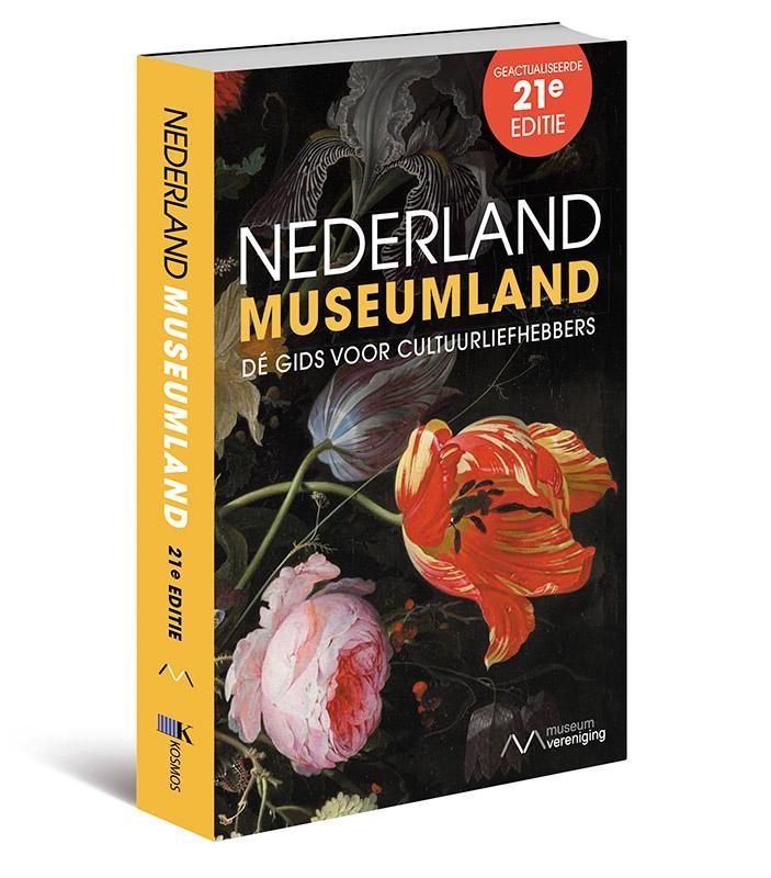 Reisgids Nederland Museumland   Kosmos