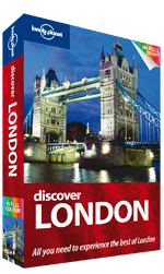 Reisgids Discover London - Londen : Lonely Planet :