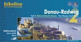 Fietsgids Donauradweg 2 Passau - Wenen (Duitstalig)   Bikeline Esterbauer