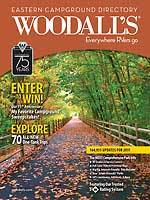 Campergids - Camperplaatsen - Campinggids 2011 Woodall's Eastern USA - OOST USA Campground Guide : Woodall's :