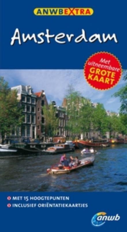 Reisgids Amsterdam   ANWB extra