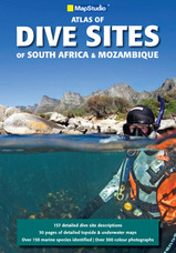 Duikgids Dive Sites of South Africa & Mozambique   Mapstudio