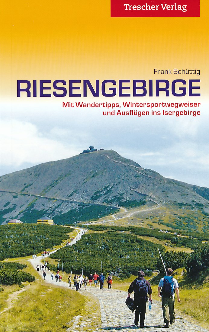 Reisgids Das Riesengebirge entdecken - Reuzengebergte   Trescher Verlag