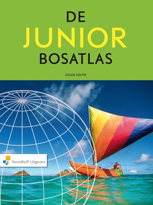 Junior Bosatlas   Noordhoff Uitgevers