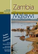 Reisgids Zambia und Malawi   Hupe Verlag