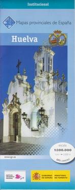Wegenkaart - landkaart Huelva Provinciekaart    IGN Spanje