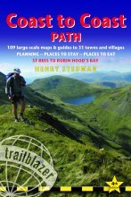 Wandelgids Coast to Coast Path: St Bees to Robin Hood's Bay : Trailblazer 9781905864300 :