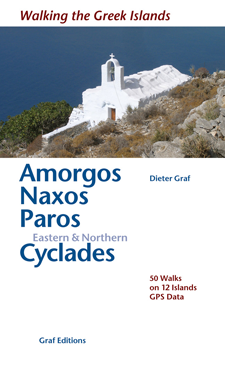 Wandelgids (DUITS) Amorgos, Naxos, Paros & Kykladen   Graf Editions