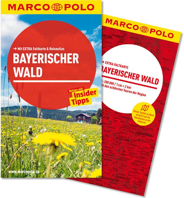 Reisgids Reisef�hrer Bayerischer Wald - Beierse Woud   Marco Polo