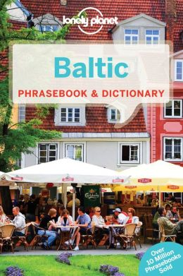 Woordenboek Taalgids Baltic Phrasebook - Baltische talen  Lonely Planet