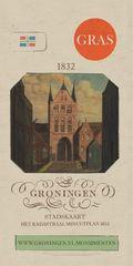 Stadskaart Groningen - Het kadastraal minuutplan 1832   Platform Gras