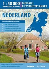 Digitale fietsrouteplanner (4 dvd's) Nederland   On Track