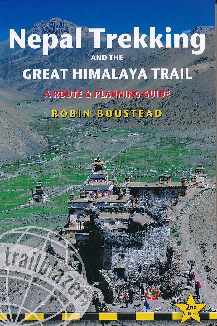 Wandelgids Nepal Trekking and the Great Himalaya Trail: A Route and Planning Guide   Trailblazer