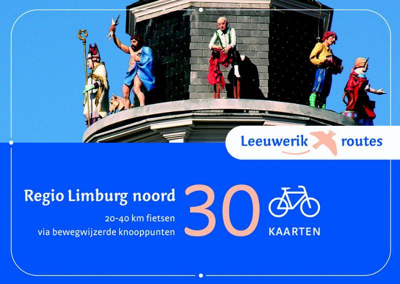 Fietsgids Leeuwerikroutes Regio Limburg Noord   Buijten Schipperheijn