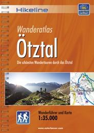 Wandelgids Wanderführer Ötztal   Hikeline - Esterbauer
