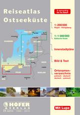 Wegenatlas - Reiseatlas Polnische Ostseek�ste - Wegenatlas Oostzeekust Polen - Baltische Staten 1:200.000 - 1:1.000.000   Hofer verlag