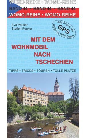 Campergids - Camperplaatsen Band 44 Mit dem Wohnmobil nach Tschechien - Tsjechië   Womo Verlag