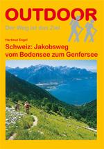 Wandelgids Schweiz: Jakobsweg vom Bodensee zum Genfersee   Conrad Stein
