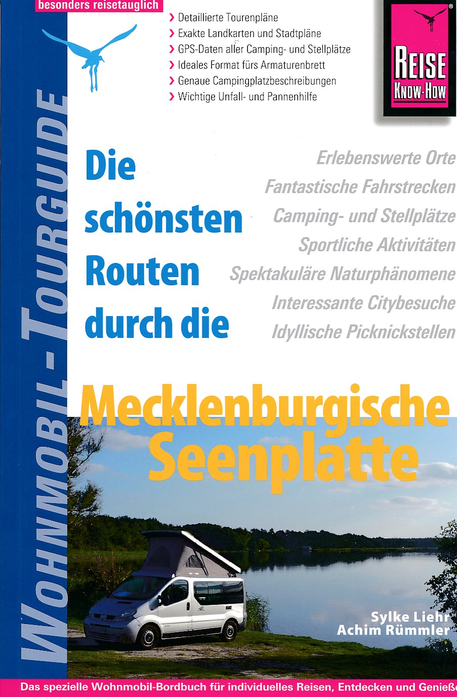 Campergids Die sch�nsten Routen durch die Mecklenburgische Seenplatte   Reise Know How