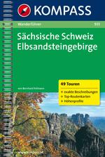 Wandelgids WF 931 S�chsische Schweiz-Elbsandsteinge   Kompass