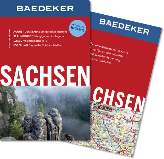 Reisgids Sachsen   Baedeker