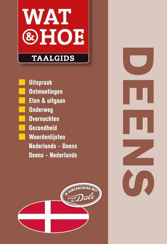 Taalgids Woordenboek Wat en Hoe Deens   Kosmos
