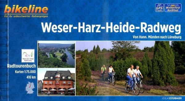 Fietsgids Weser Harz Heide Radweg   Bikeline