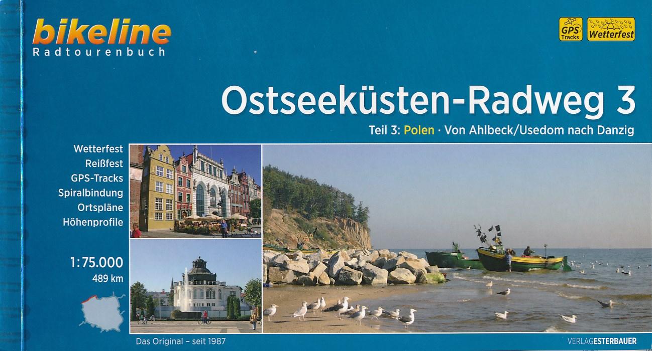 Fietsgids Ostseeküstenradweg 3: Polen - Ahlbeck / Usedom nach Danzig   Bikeline
