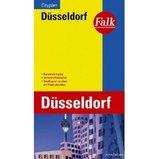 Plattegrond stadsplattegrond D�sseldorf   Falk