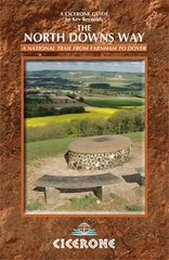 Wandelgids The North Downs Way - a National trail from Farnham to Dover : Cicerone :