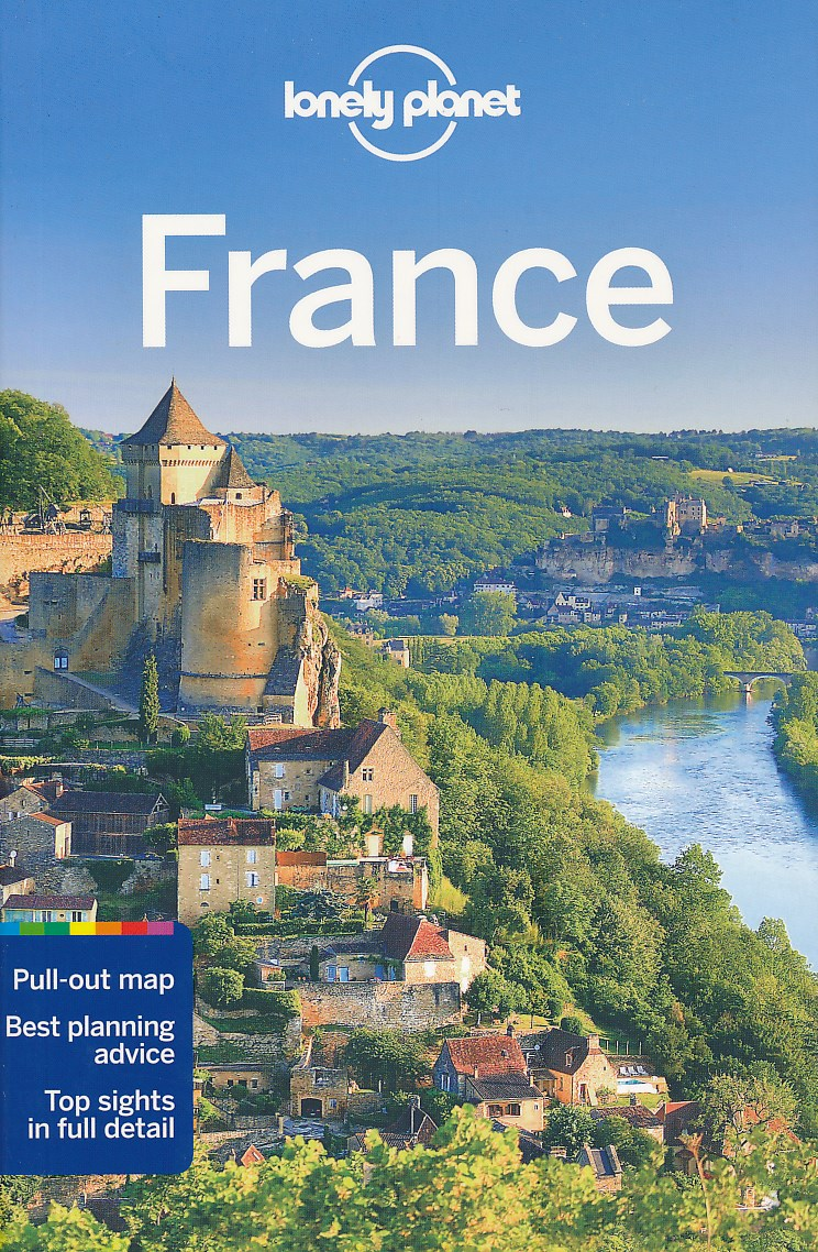 Reisgids Lonely Planet France - Frankrijk   Lonely Planet