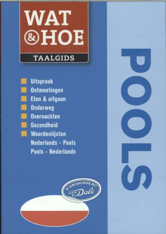 Taalgids - Woordenboek Wat & Hoe Pools   Kosmos
