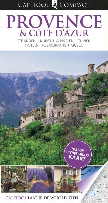 Reisgids Provence & Cote d'Azur   Capitool Compact