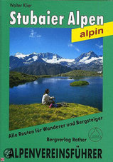 Klimgids Stubaier Alpen Alpenvereinsführer   Rother Bergverlag