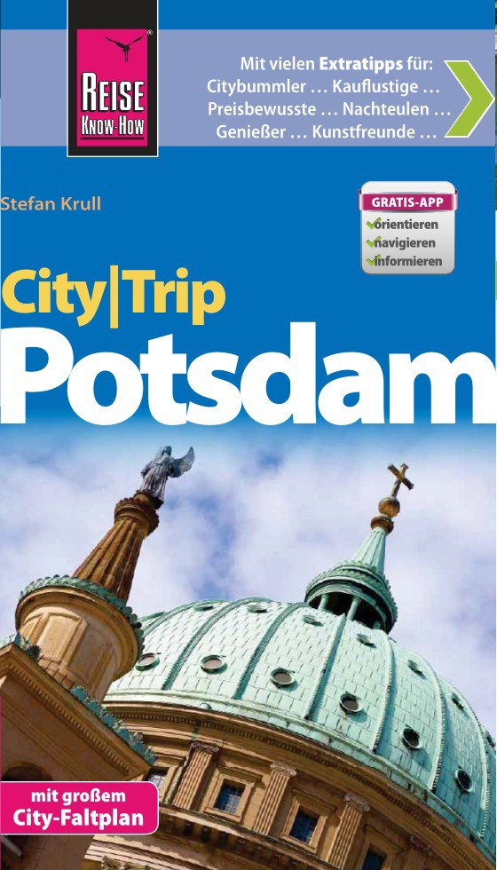 Reisgids Potsdam City Trip   Reise Know How