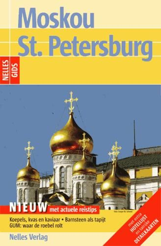 Reisgids Moskou - St. Petersburg   Nelles