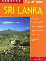 Wegenatlas Sri Lanka travel atlas   Globetrotter