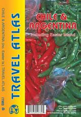 Wegenatlas Travelatlas Chile and Argentina including Easter Island - Argentinië-Chili-Paaseiland   ITMB