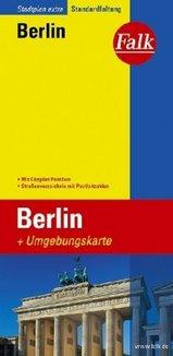 Plattegrond stadsplattegrond Berlin Berlijn   Falk