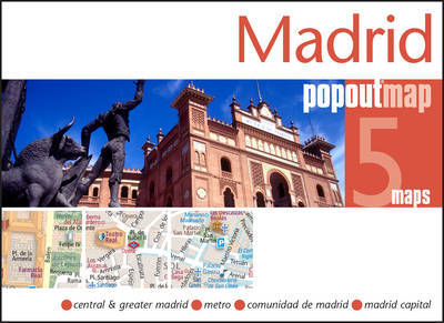 Plattegrond Madrid Popout Map   Compass Maps