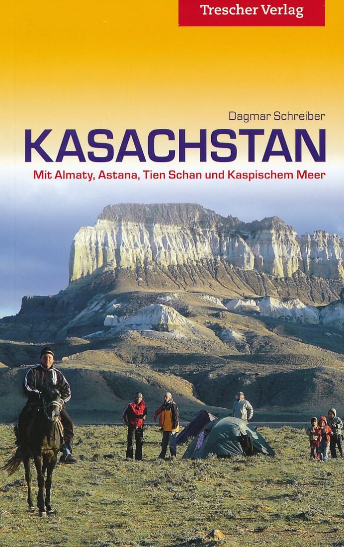 Reisgids Kasachstan entdecken - Kazachstan   Trescher Verlag