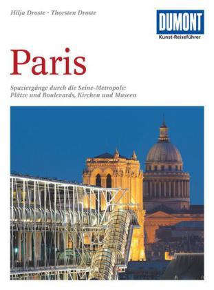 Kunstreisgids - Kunstreiseführer Parijs- Paris   Dumont verlag