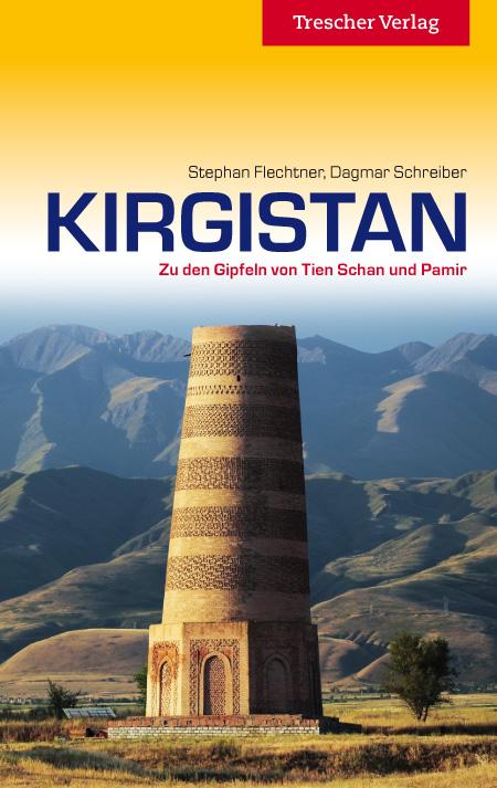 Reisgids Kirgistan entdecken - Kirgizië   Trescher Verlag
