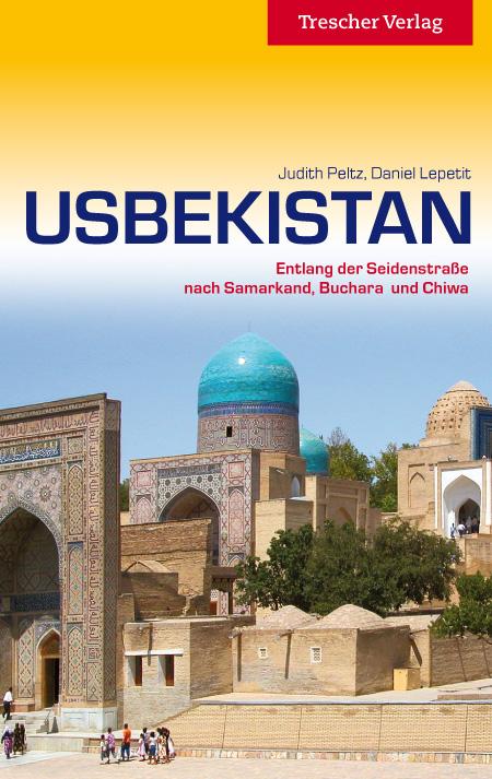 Reisgids Usbekistan - Oezbekistan   Trescher Verlag