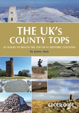Wandelgids Walking guide to UK County Tops - Groot-Brittanni� : Cicerone :