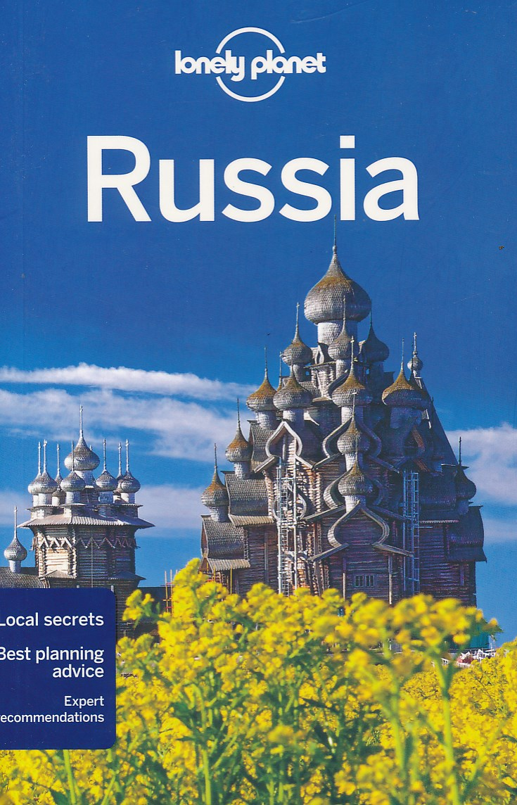 Reisgids Lonely Planet Russia - Rusland   Lonely Planet